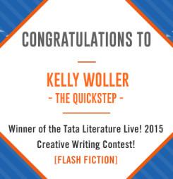 Third Winner of TATA Literature Live! 2015's Flash Fiction Contest