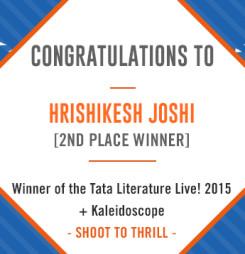 TATA LitLive2015 + Kaleidoscope : Shoot To Thrill 2nd Place Winner