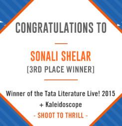TATA LitLive2015 + Kaleidoscope : Shoot To Thrill 3rd Place Winner