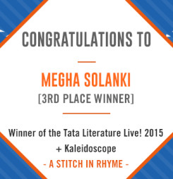 TATA LitLive2015 + Kaleidoscope : A Stitch In Rhyme 3rd Place Winner
