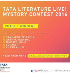 Tata Litlive! MyStory Contest : First Set of Winners